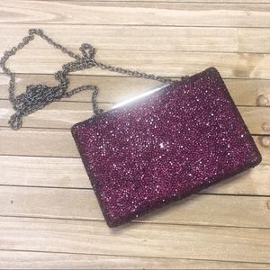 Sole Society Gladice Ombre Crystal Clutch